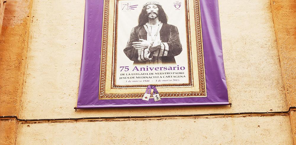 Colgadura 75 Aniversario